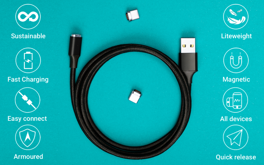 JEFirst Kevlabraid ARMOURED Phone Cable